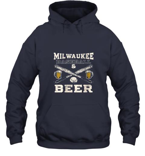 yx9o love milwaukee love baseball hoodie 23 front navy