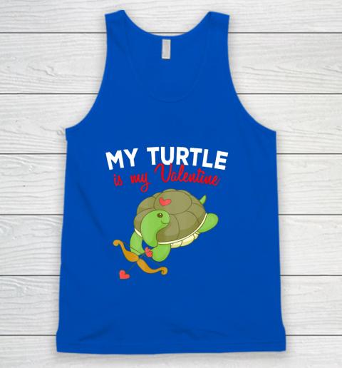 Turtle Valentine T Shirt Sea Turtle Cupid Valentines Day Tank Top 4