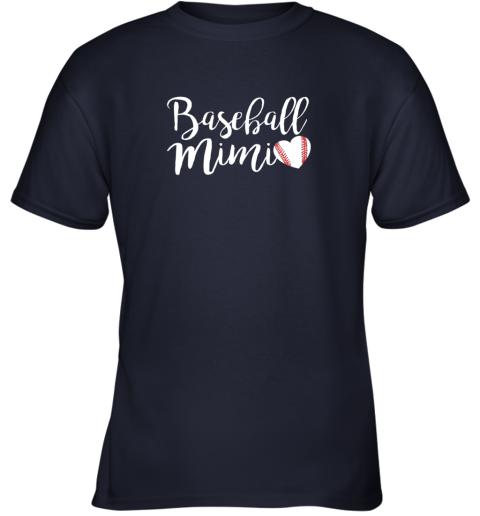 cx3p funny baseball mimi shirt gift youth t shirt 26 front navy