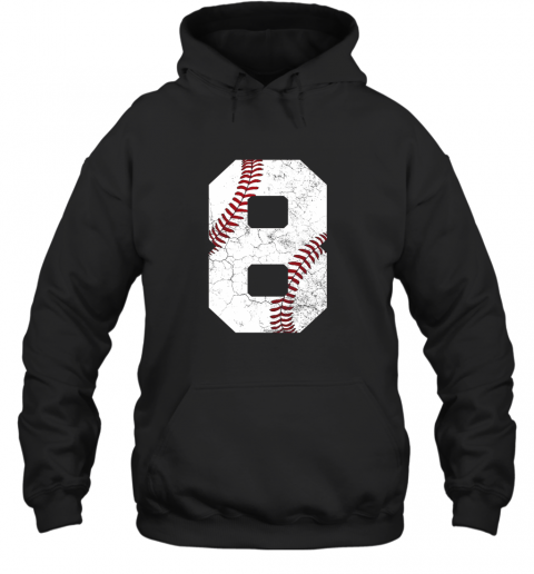 Kids 8th Birthday T Shirt Baseball Boys Kids Eight 8 Eighth Gift Hoodie