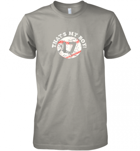 nq7m that39 s my boy 17 baseball player mom or dad gift premium guys tee 5 front light grey
