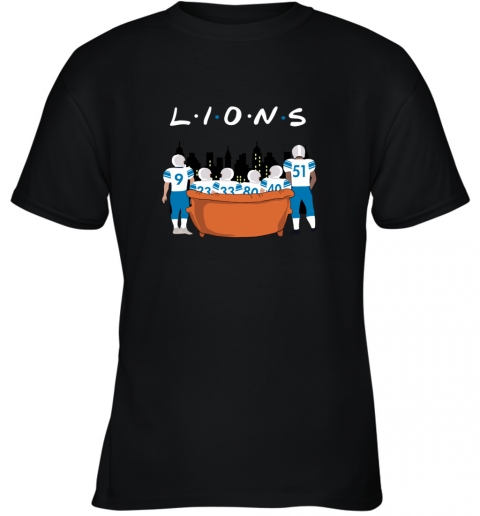 The Detroit Lions Together F.R.I.E.N.D.S NFL Youth T-Shirt