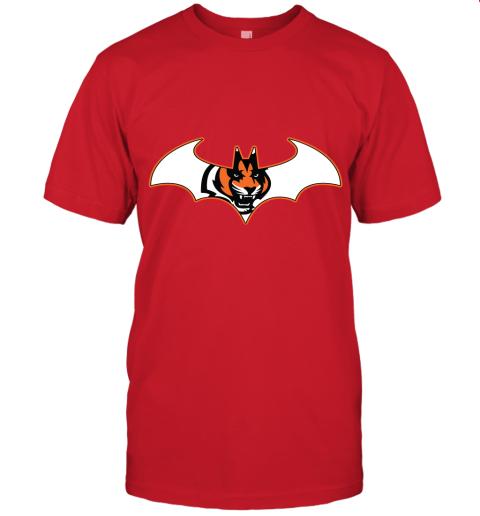 rxz3 we are the cincinnati bengals batman nfl mashup jersey t shirt 60 front red