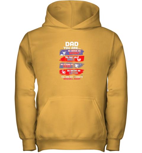 naln javier baez baseball buddy shirtapparel youth hoodie 43 front gold