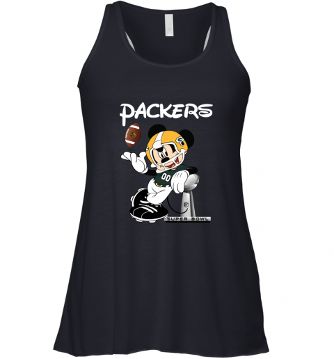 v02q mickey packers taking the super bowl trophy football flowy tank 32 front midnight