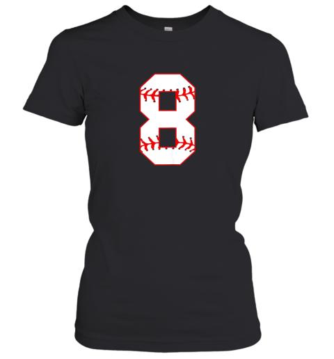 Cute eighth Birthday Party 8th Baseball Shirt Born 2011 Women's T-Shirt