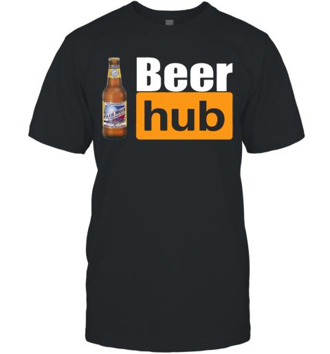 Blue Moon Beer Hub Porn Hub Style Beer T-Shirt