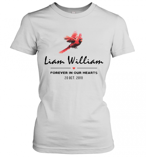 Liam Williams Forever In Your Hearts 20 Oct 2010 Women's T-Shirt