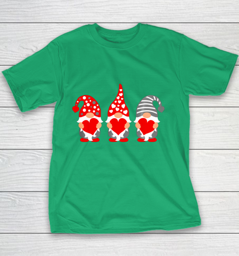 Gnomes Hearts Valentine Day Shirts For Couple Youth T-Shirt 3