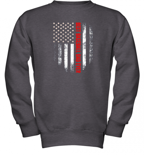 o0yt vintage usa best baseball dad ever american flag daddy gift youth sweatshirt 47 front dark heather