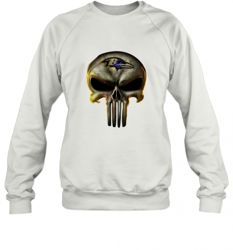 Baltimore Ravens The Punisher Mashup Football Shirts Sweatshirt