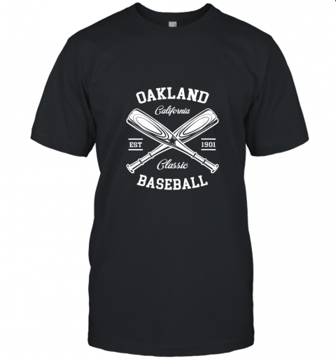 Oakland Baseball, Classic Vintage California Retro Fans Gift Unisex Jersey Tee