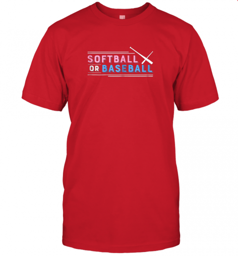 b0vz softball or baseball shirt sports gender reveal jersey t shirt 60 front red