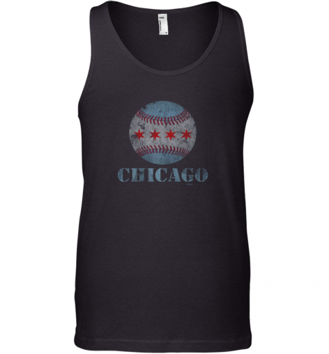 Vintage Chicago Baseball Flag Tank Top