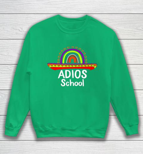 Adios School Happy Last Day Of School 2021 Teacher Mexican Sweatshirt 5