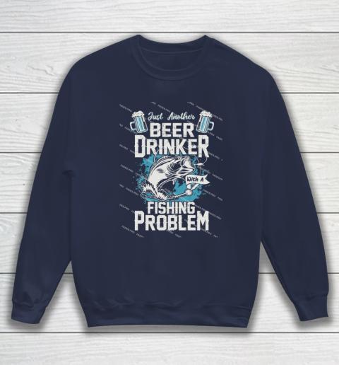 Beer Lover Funny Shirt Fishing ANd Beer Sweatshirt 2