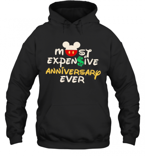 Mickey Mouse Most Expensive Anniversary Ever Hoodie