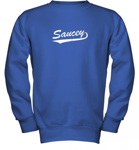 afbh saucey swag baseball youth sweatshirt 47 front royal
