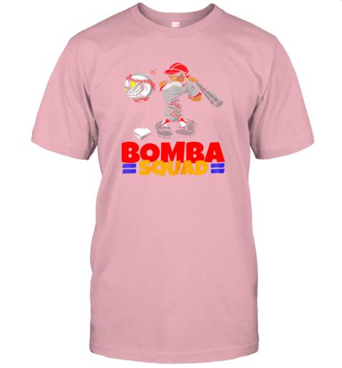 wczv bomba squad twins shirt for men women baseball minnesota jersey t shirt 60 front pink