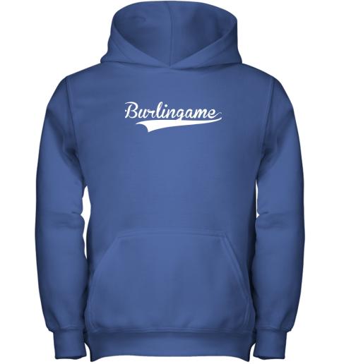 sn8z burlingame baseball softball styled youth hoodie 43 front royal