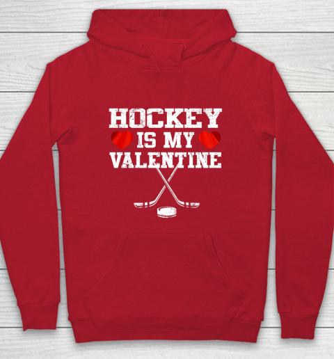 Hockey Is My Valentine Hoodie 7