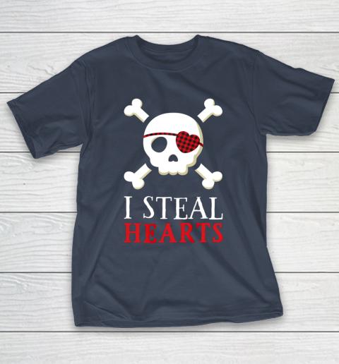 I Steal Hearts T Shirt Boy Girl Toddler Skull Valentine Gift T-Shirt 3