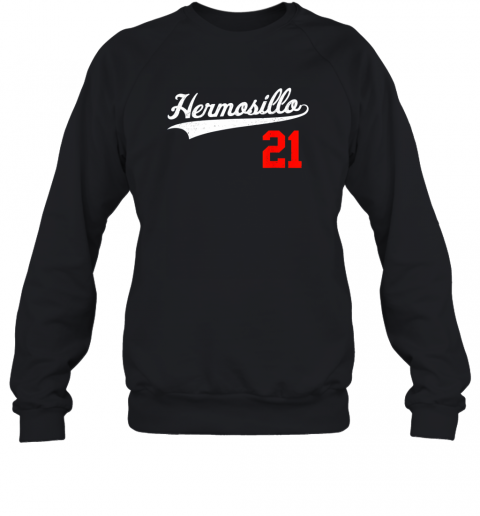 Hermosillo Shirt in Baseball Style for Mexican Fans Sweatshirt