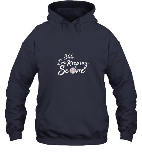 dnyv scorekeeper baseball team scorebook keeper hoodie 23 front navy