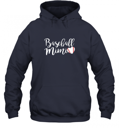 su3y funny baseball mimi shirt gift hoodie 23 front navy