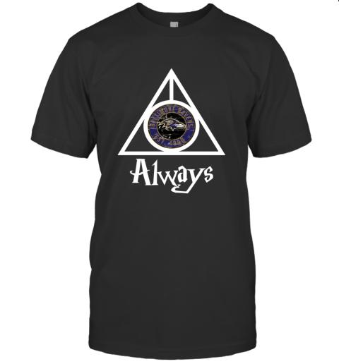 Always Love The Baltimore Ravens x Harry Potter Mashup NFL T-Shirt