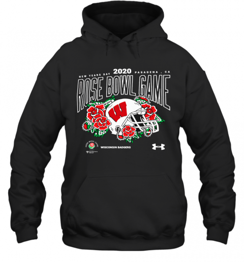 Wisconsin Badgers Under Armour New Year Day Pasadena. Ca 2020 Rose Bowl Game Hoodie