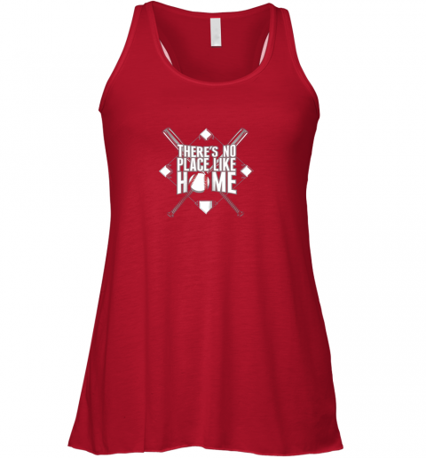 pwwl there39 s no place like home baseball tshirt mom dad youth flowy tank 32 front red