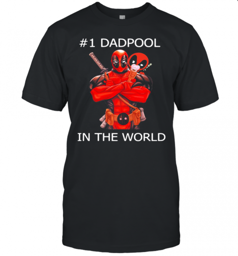 #1 Dadpool In The World Unisex Jersey Tee