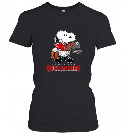 Snoopy A Strong And Proud Tampa Bay Buccaneers Player NFL Women's T-Shirt