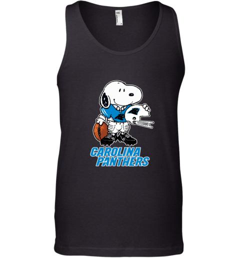 Snoopy A Strong And Proud Carolina Panthers NFL Tank Top