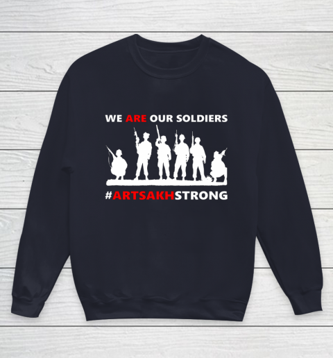 We Are Our Soldiers Youth Sweatshirt 2