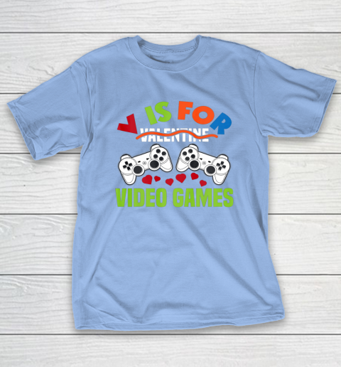 Funny Video Games Lover Valentine Day T-Shirt 10