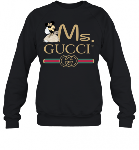 Gucci Couple Disney Ms Minnie Valentine's Day Gift Adult Crewneck Sweatshirt