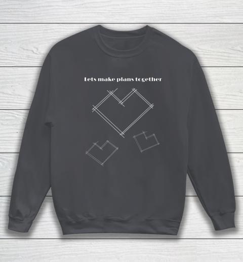 Valentine Architect T Shirt Heart Architecture Student Sweatshirt 4
