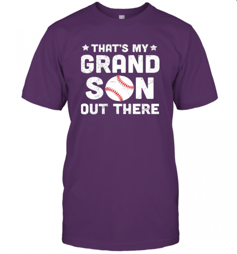 wclz grandma that39 s my grandson out there baseball jersey t shirt 60 front team purple
