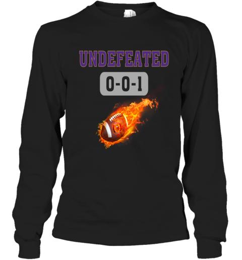 NFL MINNESOTA VIKINGS LOGO Undefeated Long Sleeve T-Shirt