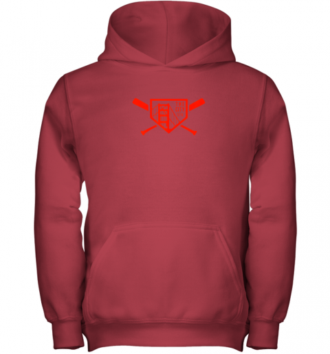 i4kr cool san francisco baseball the city bridge sfo youth hoodie 43 front red