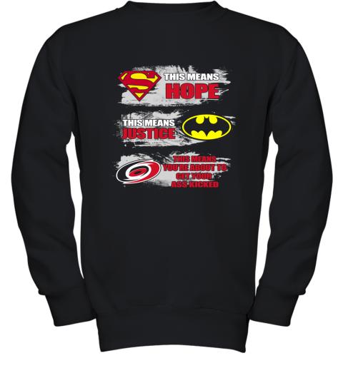 Carolina Hurricanes Kick Your Ass Youth Sweatshirt