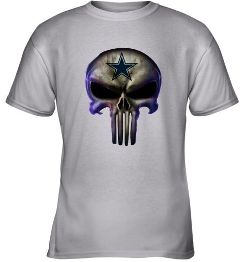 Dallas Cowboys The Punisher Mashup Football Youth T-Shirt
