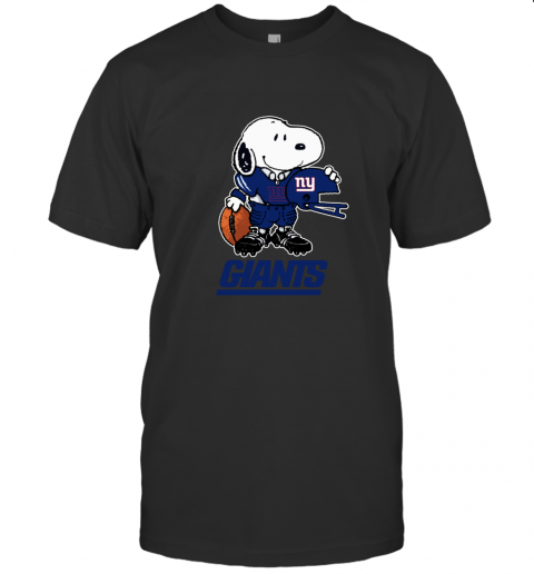 Snoopy A Strong And Proud New York Giants NFL T-Shirt