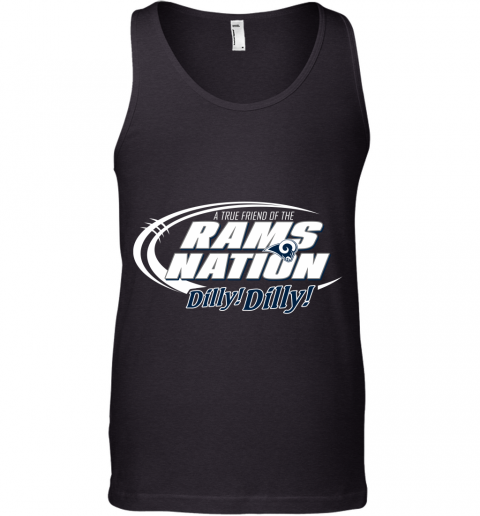 A True Friend Of The RAMS Nation Tank Top