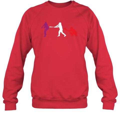 rfwr baseball usa flag american tradition spirit sweatshirt 35 front red
