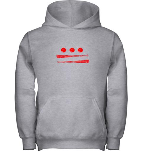 utz0 washington dc map capitol baseball flag youth hoodie 43 front sport grey