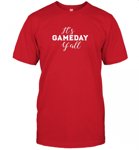 7qqw it39 s game day y39 all football baseball basketball jersey t shirt 60 front red
