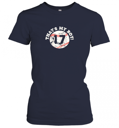 ro85 that39 s my boy 17 baseball player mom or dad gift ladies t shirt 20 front navy